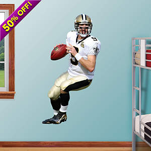 Drew Brees Fathead Wall Decal